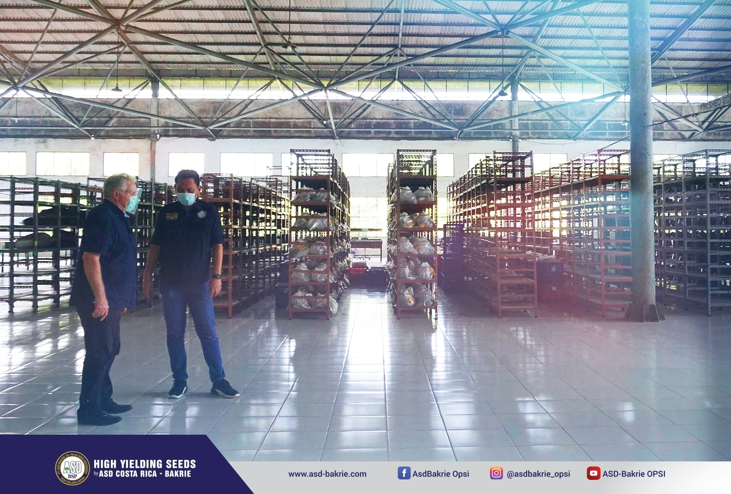 Seed Processing Unit - Kisaran, Sumatera Utara
