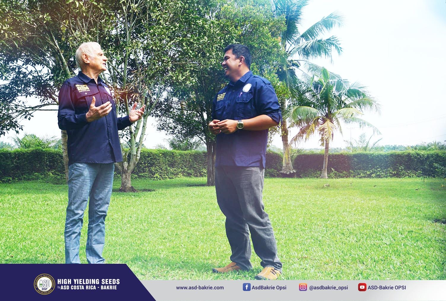 Dr Cornelis Jan Breure - plant breeder di PT ASD Bakrie Oil Palm Seed Indonesia