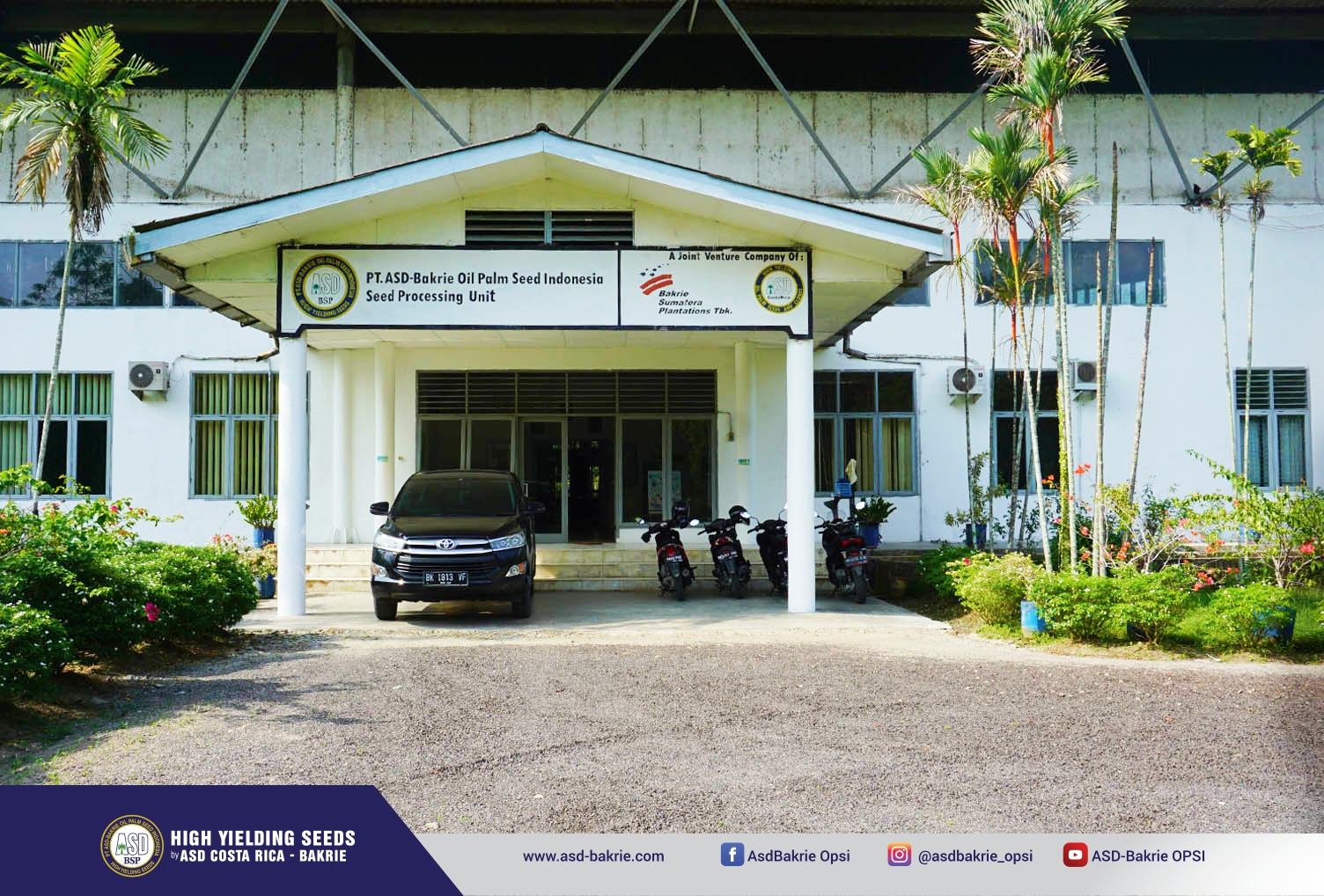 Seed Processing Unit PT ASD-Bakrie Oil Palm Seed Indonesia - Kisaran, Sumatera Utara